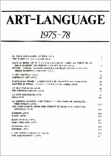 ART & LANGUAGE: 1975-78