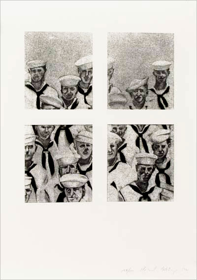 Richard ARTSCHWAGER: Sailors. 1972