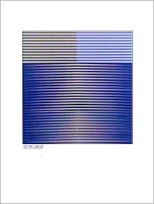 Carlos CRUZ-DIEZ: Couleur Additive. 1973