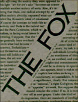 The FOX, Volume One, Number One. 1975