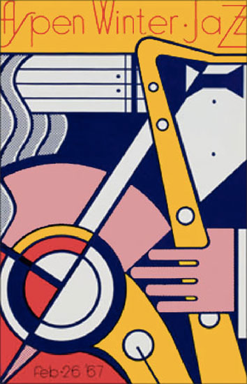 Roy LICHTENSTEIN: Aspen Winter Jazz. 1967