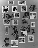 Annette MESSAGER: Ma Collection d'Expressions et d'Attitudes Diverses. 1975