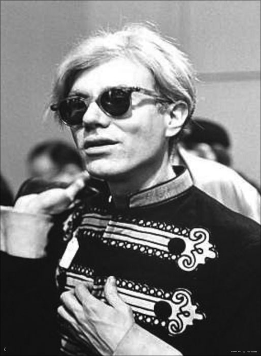 Andy WARHOL / Fred W. McDARRAH: Andy Warhol in Bandmaster Costume, 1967