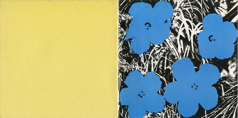 Andy WARHOL Flowers Sonnabend
