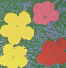 Andy WARHOL: Flowers