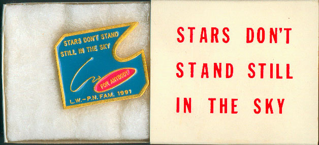 Lawrence WEINER: Stars don't Stand Still in the Sky